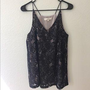 Loft dressy lace camisole